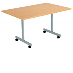 TILTING OR FOLDING TABLES