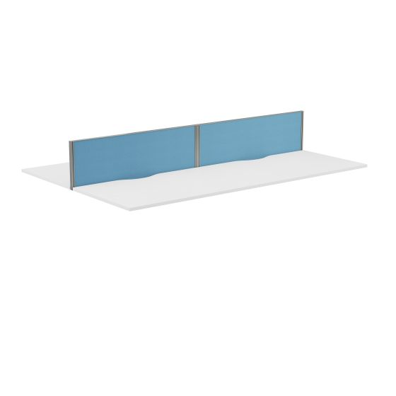 Panel Type 7 Straight Screen Silver Frame - 1400W X 380H Band 2