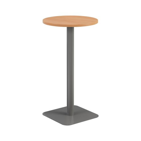 Contract Table High 600mm - Silver Frame