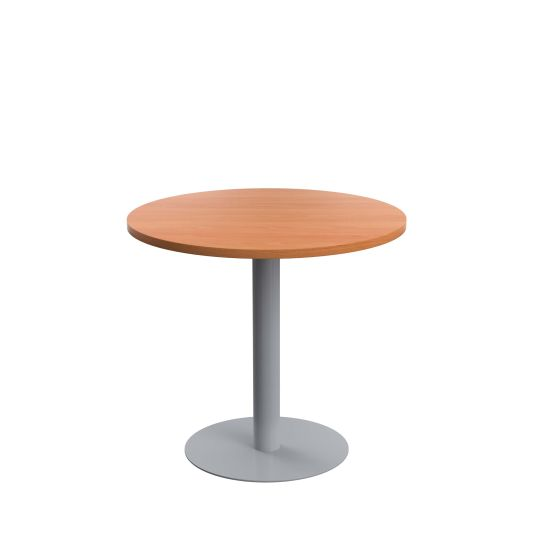 Contract Table Mid 800mm - Silver Frame