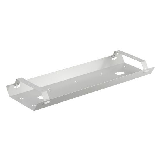 Double Cable Tray 1200-1500 White Individually Packed