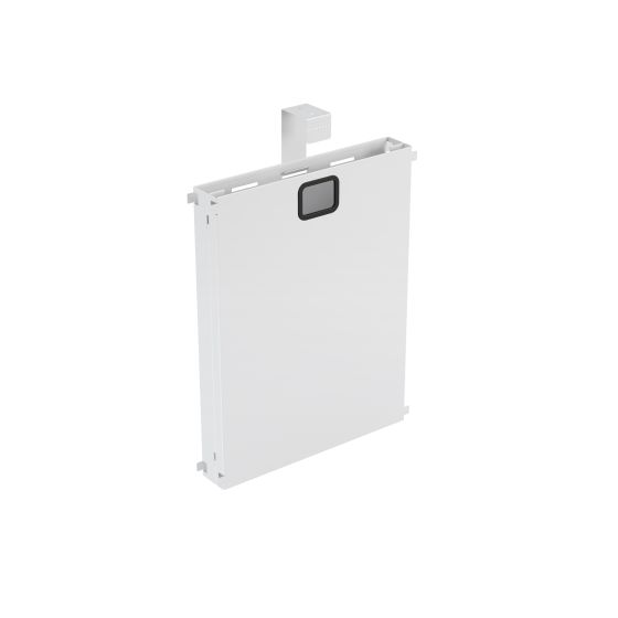 Intermediate Leg Mass Cable Riser White Individually Packed