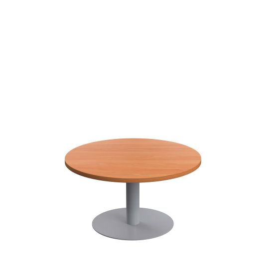 Contract Table Low 800mm - Silver Frame
