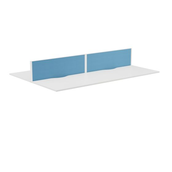 Panel Type 7 Straight Screen White Frame - 1400W X 380H Band 2