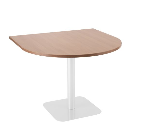 Contract Table 1000 X 1000 Semi - White Frame