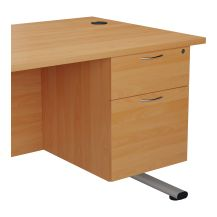 Fixed Pedestal 2 Drawers