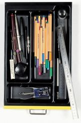 Optional A4 4 Compartment Tray - Black