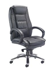 Montana Executive Leather Chair Black