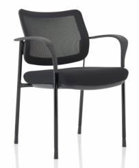 Brunswick Deluxe Mesh Back Colour Frame With Arms