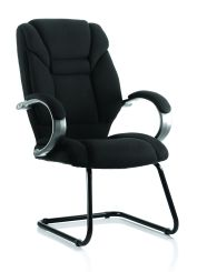 Galloway Cantilever Chair Colour Fabric With Arms