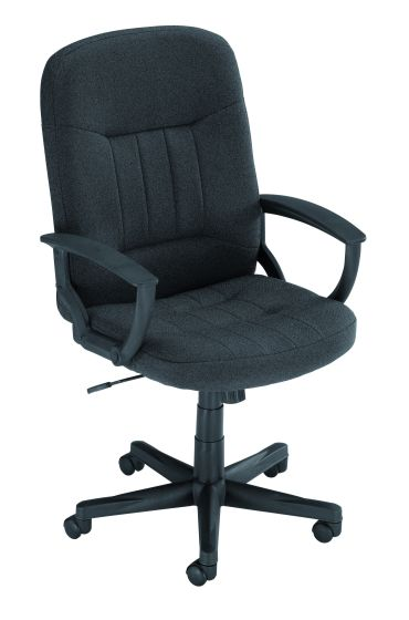 Hague Colour Fabric Executive Chair With Fixed Arms