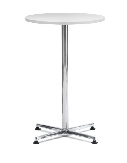 Benny Bistro High Meeting Table - White