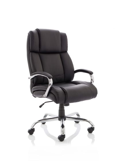 Texas Executive Soft Bonded Leather Heavy Duty Chair With Arms